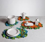 Seletti Florigraphie Straw Table Mat