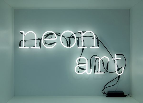 Seletti Neon Art Alphabet Lamp