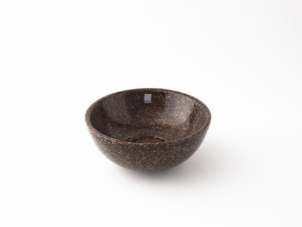 Woodio Soft40 bowl rugged dark oak
