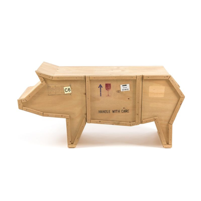 Seletti Sending Animals Wooden Furniture Pig