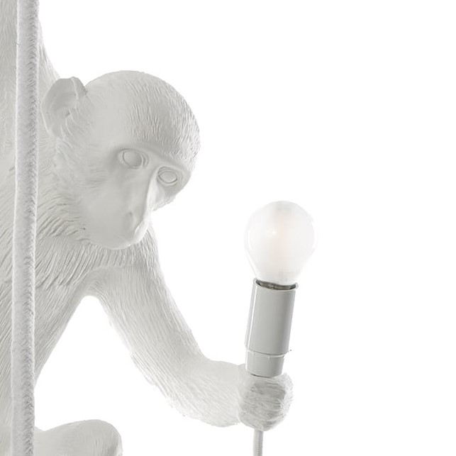 E14 Satin Bulb for Seletti Monkey Lamp